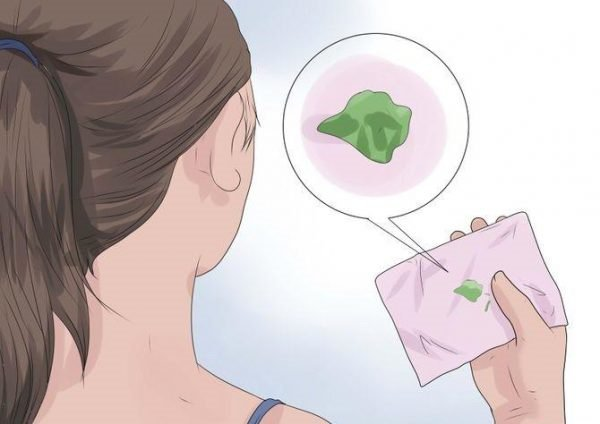 khí hư màu xanh khi đang mang thai