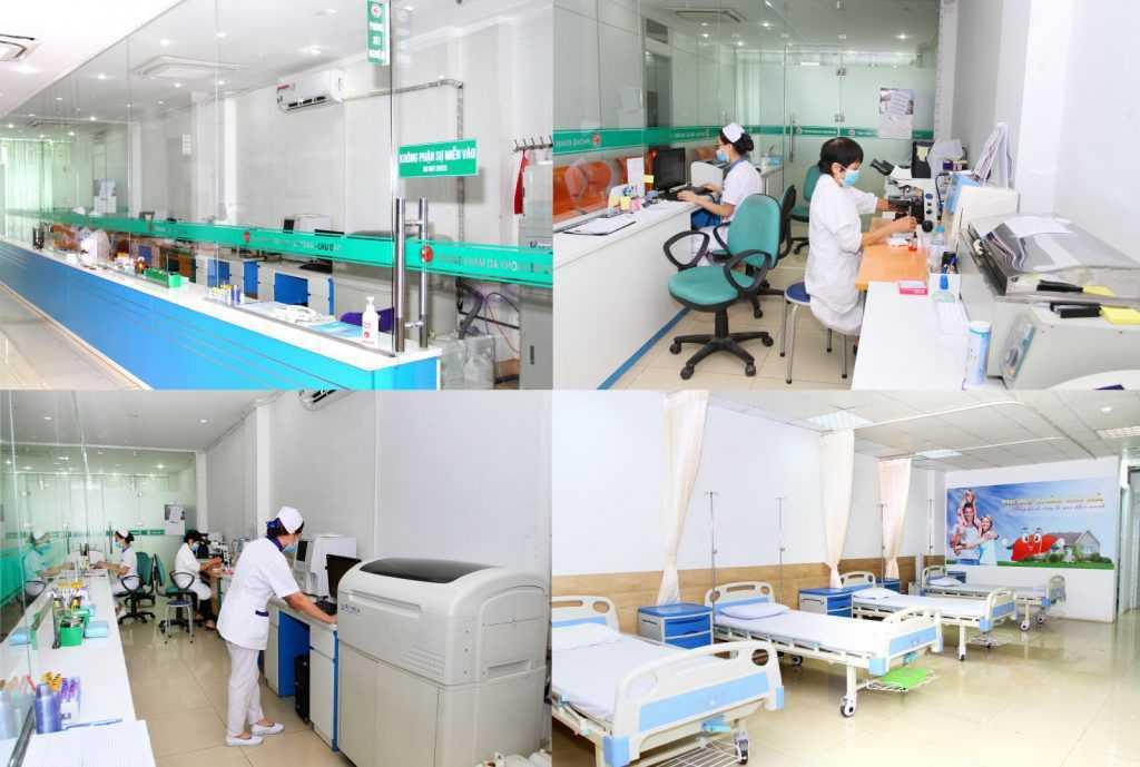 cơ sở vật chất phòng khám