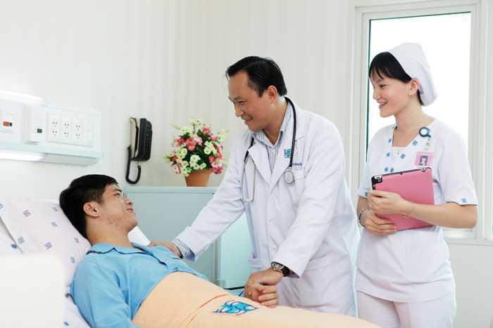 dịch vụ y tế chuyên nghiệm