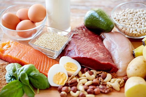 thực phẩm giàu protein tốt cho người mới phá thai