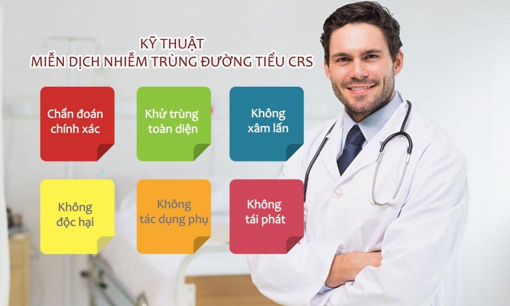 phác đồ điều trị viêm tinh hoàn crs