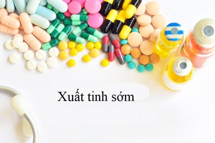 thuốc điều trị xuất tinh sớm