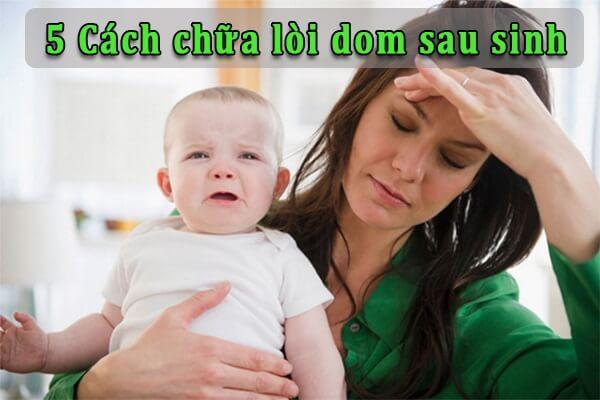 5 Cách chữa lòi dom sau sinh ở phụ nữ an toàn, hiệu quả