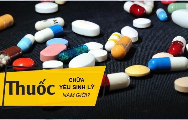 Các loại thuốc trị yếu sinh lý hiện nay có thể bạn chưa biết